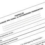 Tata Cara Pembubuhan Cap dan Penulisan Nominal SSP PPh 21 DTP