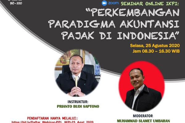 Perkembangan Paradigma Akuntansi Pajak di Indonesia